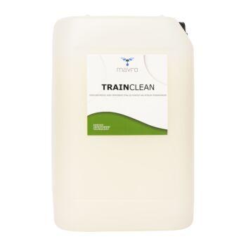 Reiniger voor rollend materieel TRAINCLEAN